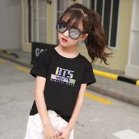 Baju anak bts kaos anak bts tshirt anak bts hologram block - Kaos