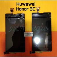 LCD + TOUCHSCREEN HUAWEI HONOR 3C / HONOR H30 U10 LAYAR - HITAM