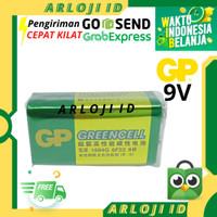 Baterai 9V Greencell GP Batre Kotak 9V Batre Mic Microphone 9V 9 Volt