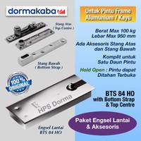 Floor Hinge Dorma BTS 84 HO with accessories ( dgn Stang Atas & Bawah)