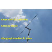 DISKON Antina Depole Antena Dipole Antena Siaran Pemancar Fm Stereo