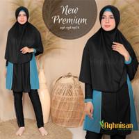 Baju Renang Wanita Muslim Muslimah Premium Aghnisan Size S-XL