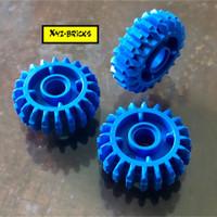 LEGO PARTS 6224999 - Technic Angled Gear Wheel Z20 w. Hole Bright Blue
