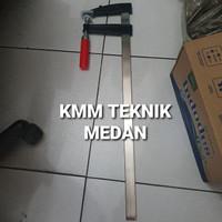 BAIS F CLAMP KAYU PAPAN 120MM X 1200MM 120CM / 1.2 METER X 12CM