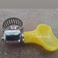 Klem ukuran 5/8 untuk selang/Hose Clamp, harga untuk 4 pcs, Balikpapa