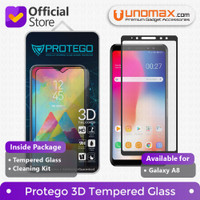 Protego 3D Samsung Galaxy A8 2018 (5.6) Full Cover Tempered Glass