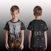 T Shirt/Kaos Anak Pria/Wanita/kaos Custom EXO art 1