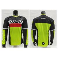 kaos jersey sepeda mtb-baju kaos motor cross dwonhill thor grade ori