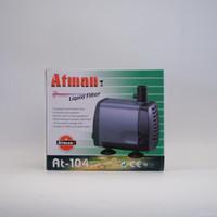 Atman AT 104 Pompa Air Aquarium Kolam Submersible Water Pump