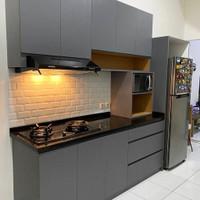 kitchen set hpl apartemen