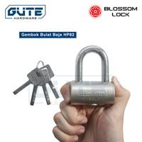 """Gembok Bulat """"Blossom"""" Tipe HP 82 Untuk Pintu Pagar / Kantor / Gudang"""