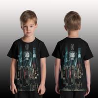 T Shirt/Kaos Anak Pria/Wanita/kaos Custom EXO art 5