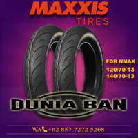 PAKET BAN NMAX MAXXIS MA-R1 120/70-13 & 140/70-13 SOFT COMPOUND