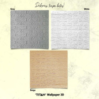 [CSG.ID] Wallpaper 3D TITAN 3mm 70X77 Motif BATA.