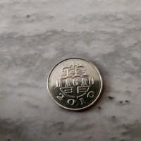 Uang Macau Koin 10 Avos 2010