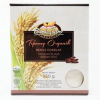 Bionic Farm Tepung Beras Cokelat Organik 250 gr