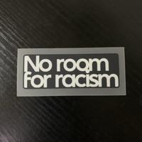 Original 2020 - 21 Liga Inggris EPL NO ROOM FOR RACISM PATCH no jersey