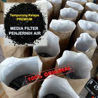 Arang Aktif/Karbon Media filter alat Penjernih Air Aktif premium
