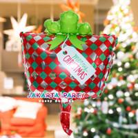 Balon Foil Natal / Balon Merry Christmas / Balon Foil Kado Natal