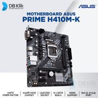 Motherboard ASUS H410M-K MATX LGA1200 DDR4 DVI-D D-Sub