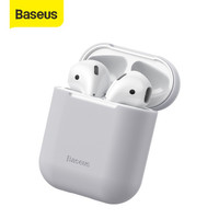 BASEUS Airpods Gen 1 and 2 Ultra-thin Silicone Protective Skin Case - GRAY