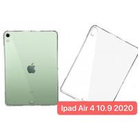 Ipad Air 4 10.9 2020 SBT-001 SoftShell Silikon Back Case Tablet Bening