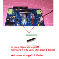 Atmega328p pre-programmed uSDX QCX SDR HF Transceiver Standalone