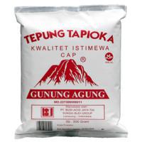 TEPUNG TAPIOKA CAP GUNUNG AGUNG 500gr / TEPUNG TAPIOKA