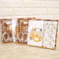 Gift set baju bayi new born baju bayi full set sapi