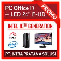 PC Intel i7 Gen-10 Lengkap (Siap Pakai, untuk Professional) - 24