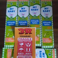 My Baby Minyak Telon Plus 57ml/85ml/145ml