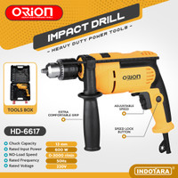 Mesin Bor Listrik Impact Drill Listrik Orion HD-6617