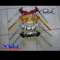 Stang Jepit + Segitiga Komplit CB-150 / Vixion / Satria Fu NUI