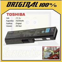 BATERAI TOSHIBA ORIGINAL C600 C630 C635 3817 ORI GRADE A L730 L740