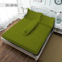 Sprei Diva Jacquard Tinggi 30 Warna Green - 120x200
