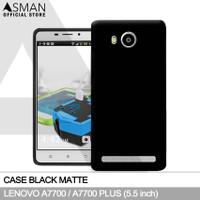Ultraslim Lenovo A7700 (5.5) | Softcase Black Matte - Hitam