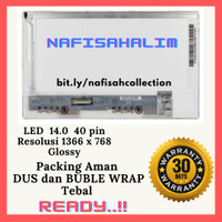 LCD / LED Asus N46 N46V N46VZ N46VJ N46VM LED 14.0 Standar