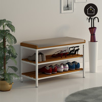 Rak Sepatu IRVINE / Tempat Penyimpanan Sepatu / Bangku / Bench