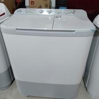 mesin cuci 2 tabung sharp 9 kg es-t90mw