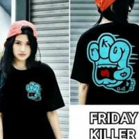 kaos/tshirt/baju friday killer