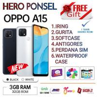 OPPO A15 RAM 3/32 GB GARANSI RESMI OPPO INDONESIA