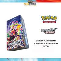 Booster Box Pedang & Perisai Set B - Kartu Pokemon TCG Indonesia SC1b