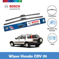 Bosch Sepasang Wiper Honda CRV 1st Gen Frameless Advantage 19 & 19