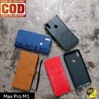 LEATHER FLIP COVER WALLET ASUS ZENFONE MAX PRO M1 CASE CASING