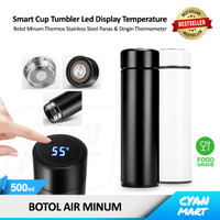 Botol Minum Termos Air Panas Dingin Smart Cup LED Thermos Thermometer