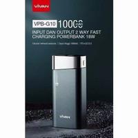 PowerBank VIVAN VPB-G10 10000 mAh QC 3.0 Fast Charging