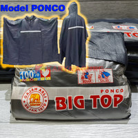 Jas Hujan BIG TOP Ponco Gajah Asli / Mantel Poncho Batman Kelelawar