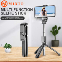 MIXIO L02 Tongsis/4 in 1 Tripod/bluetooth Selfie Stick Tripod Foldable