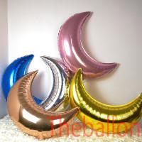 Balon Foil Ulang Tahun Bentuk Bulan | Moon