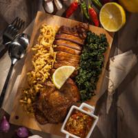 Sei Ayam Fillet Asap Frozen Food Makanan Instan Beku Halal Gyumbox